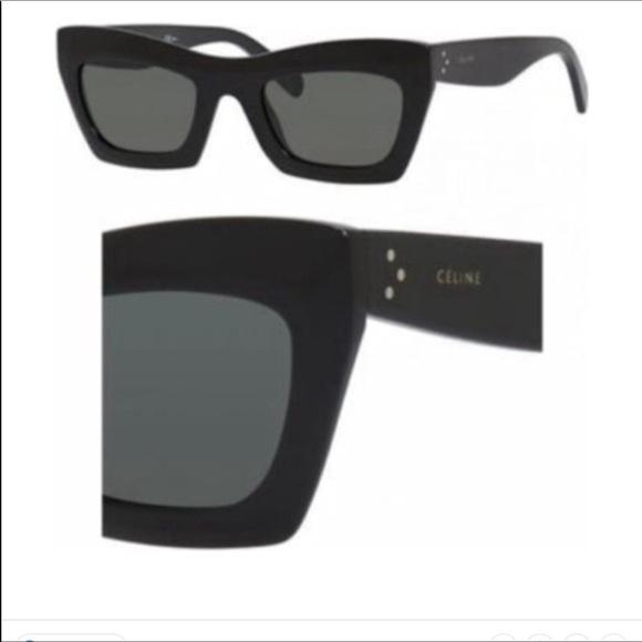 """0d824544e9a3 CELINE """"EVA"""" Sunglasses 41399S"""